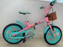Bicicleta Caloi aro 16 - personagem  Moana
