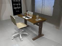 Mesa de Escritório em Madeira Maciça. OBS: Vendas Via Whatsapp. Gajota