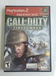 Call Of Duty Finest Hour Playstation 2 Ps2 Completo Original