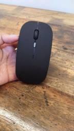 Mouse bluetooth recarregável