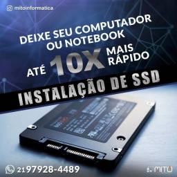 Instalação de SSD - Deixe o seu computador até 10x mais rápido !