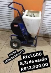 Rtx 1.500 graco e máquina de massa