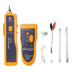 Localizador de cabos Wire Tracker Multi com teste cabo rede - cód. 31996