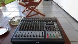 Pmp3000 Mesa Som Amplificada Behringer Pmp 3000 1200w