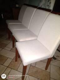 Cadeiras lindas impermeabilizada $150 CADA