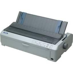 Impressora epson lq-2190 matricial semi nova revisada