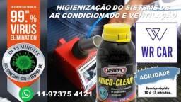 Higienização Automóvel