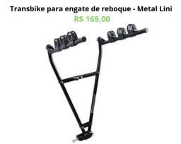 Transbike/Porta Bike p Engate de Reboque com alças em V