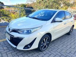 Toyota Yaris Xls 2019 com teto Solar