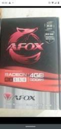 Título do anúncio: RX550 4GB AFOX