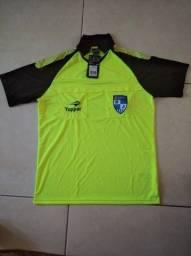 Camisa polo FERJ árbitro topper