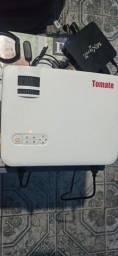 Projetor tomate mpr5006 +tvbox