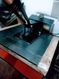 Máquina de estampa tamanho 50x60 revisionadA completa ?
