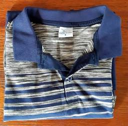 Camisa Polo masculina + Regatas (estoque brechó)