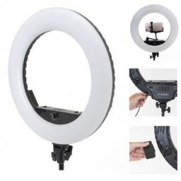 Ring Light 10 Polegadas Kit Iluminador Completo - Tripe De 1