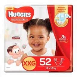 Fralda XXG Huggies c/52 - 2 pcts