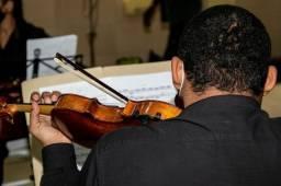 Aulas de violino e teclado