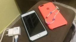 iPhone 6plus 32g, aconpamha 2capinha original, única dona
