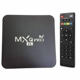 Vendo TV box mxq pro 4k 5g leia a descrição