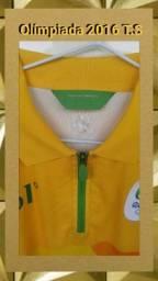 Blusa Original Olímpiada 2016 Nova T.S Apenas$50
