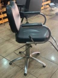 Cadeira hidráulica para salões e barbearia