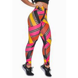 Calça Legging Fitness Estampada Modelos