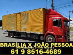 frete João pessoa/ Brasília