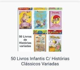 50 historias infântis compra pelo sap + *