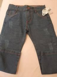 Calça jeans tam 3 nova