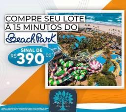 Título do anúncio: Loteamento meu sonho Aquiraz   compre seu lote a 15 minutos do Beach Park.