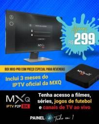 Tv box 8 Gb Ram aplicativo MXQ Pro