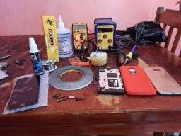 Vendo kit assistência técnica por 1300