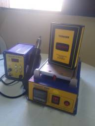 Vendo Separadora de Vidro, estação 2em1 e kit de ferramentas.