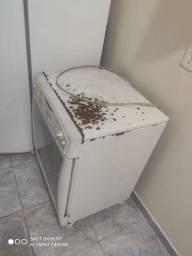 Secadora de roupas funcionando