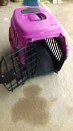 Casinha para transportar gatos