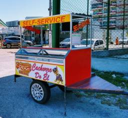 Trailer hot dog