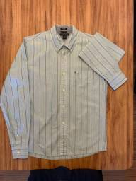 Camisa Masculina Tommy Hilfiger Tam. P/S Trim Fit - Legítima