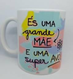 Canecas De Porcelana Personalizadas - Especial Dia Das Mães