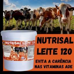 Nutrisal leite 120 Balde de 10kg