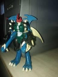 Digimon Paildramon boneco colecionador