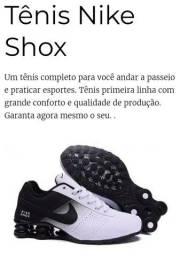 Tênis nike shox - ORIGINAL (Branco&Preto)