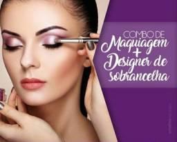 Curso de maquiagem e designer de sobrancelhas