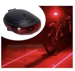 Ciclovia Virtual Laser Lanterna Luz Traseira Bicicleta Bike