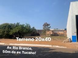 Terreno 20x40