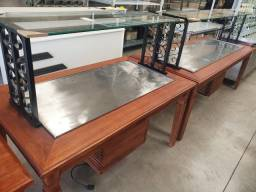 Título do anúncio: Buffet rustico madeira quente e frio sob medida