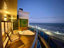 cobertura de alto padrão c/ 4 dormitorios vista mar