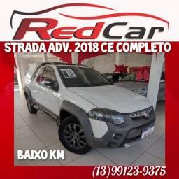 Fiat Strada Adv 2018 CE top de linha!