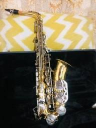 Saxofone Alto Hoyden HAS25 LN Laqueado CHS Niquelada