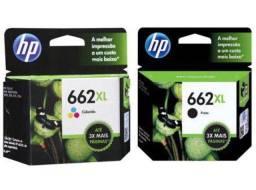 Título do anúncio: Cartucho de tinta HP 662XXL preto + colorido.