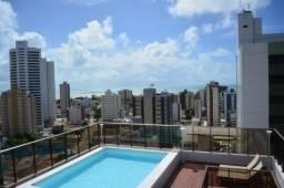 Apartamento para venda com 90 metros quadrados com 3 quartos em Tambaú - João Pessoa - PB